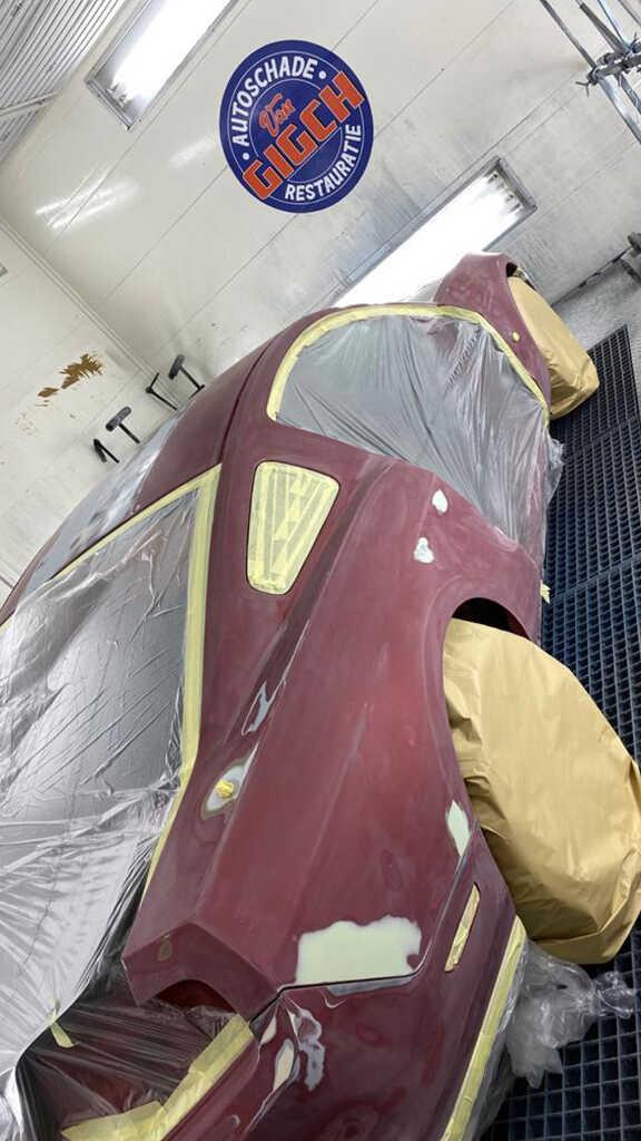 Autospuiterij zoetermeer Ford Mustang GT